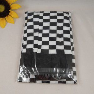 NWT Checkerboard Tights in Black/White OS